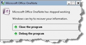 one_note_has_stopped_working