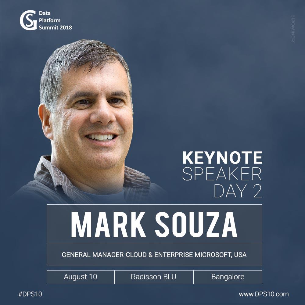 Mark Souza - DPS 2018 Keynote Speaker Day 2