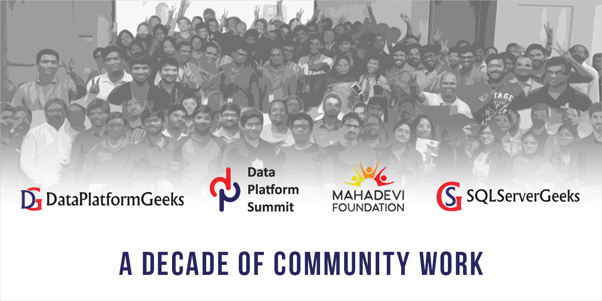 A Decade of Community Work by Amit Bansal